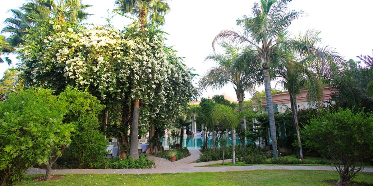 The Garden at Palais Rhoul & Spa