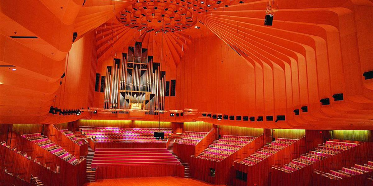 The Concert Hall at Sydney Opera House