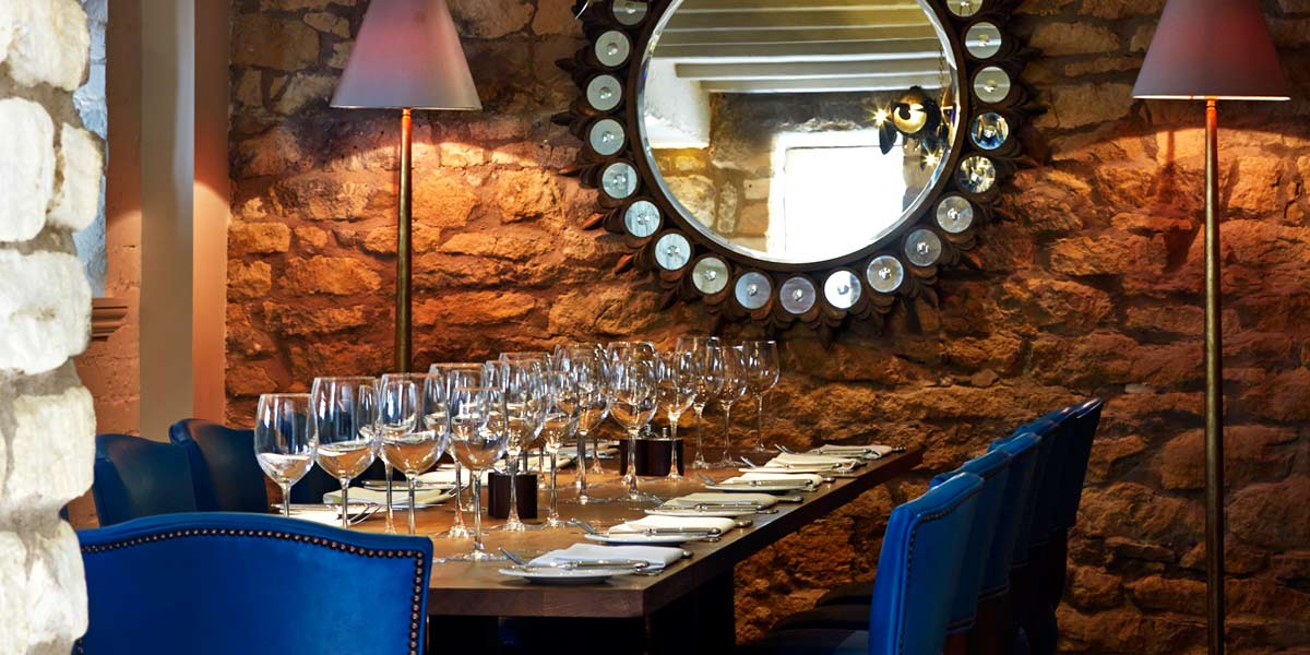 The Private Dining Room at Farncombe Estate