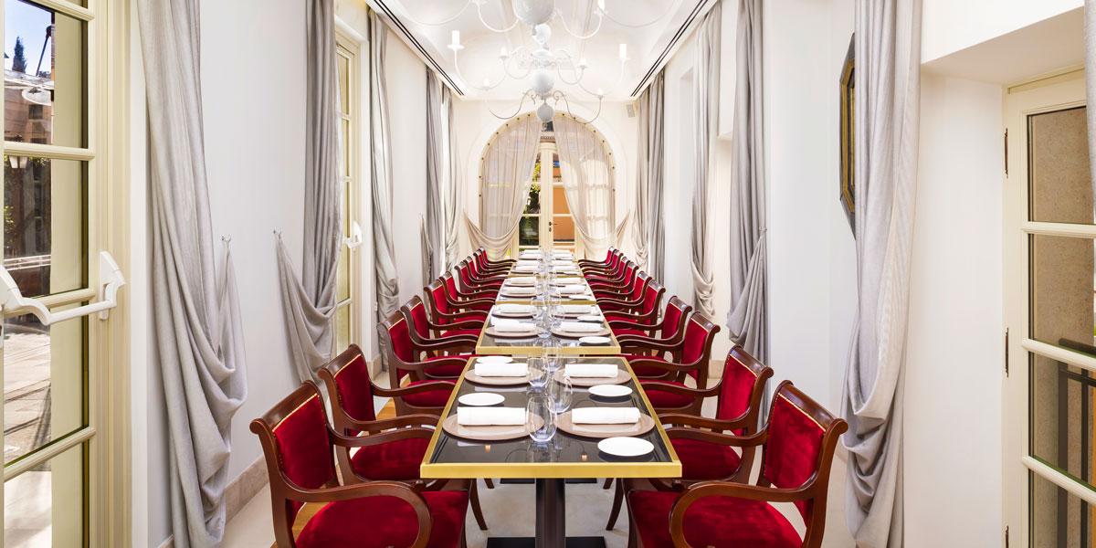 Private Dinner Space, Gran Melia Rome Villa Agrippina, Prestigious Venues