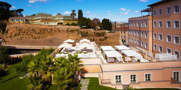 Private Event Terrace, Gran Melia Rome Villa Agrippina, Prestigious Venues