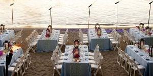 Private Party On The Beach, Round Hill Resort, Prestigious Venues