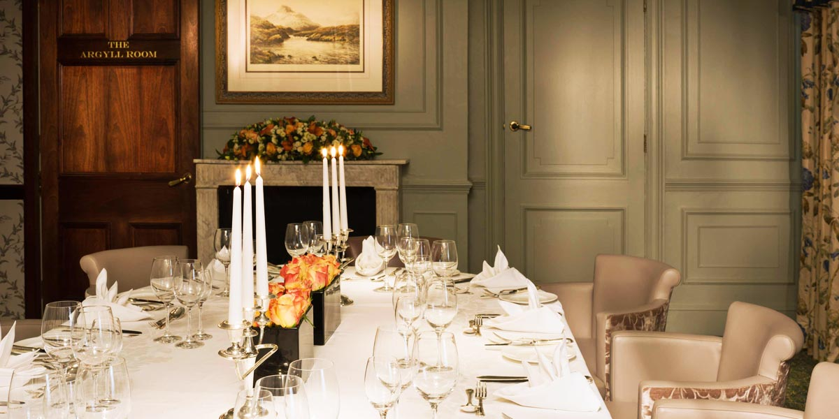 Private Room For Events, The Stafford London, Prestigious Venues