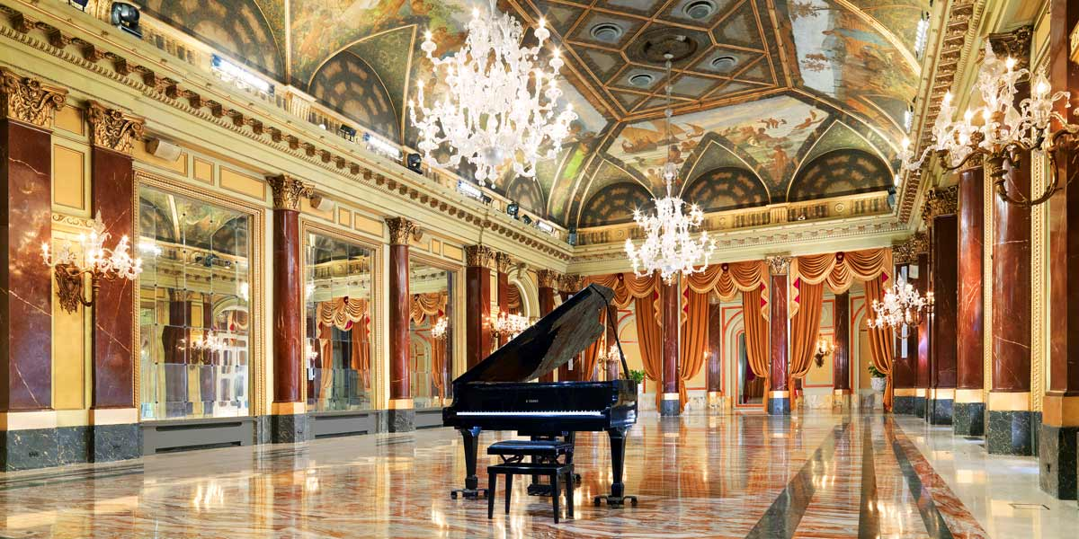Reception Venues, Reception In The Ritz Ballroom, St Regis Rome, Prestigious Venues