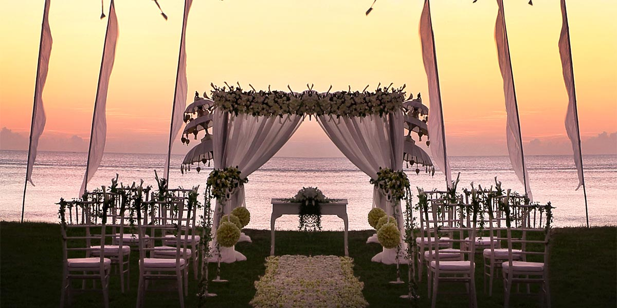 Intercontinental bali resort event spaces prestigious venues for Best intimate wedding venues