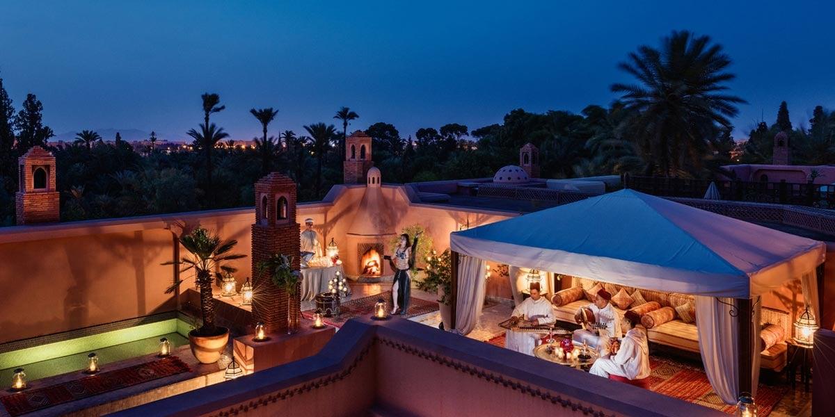 Roof Top Venues, Royal Mansour, Marrakech, Prestigious Venues