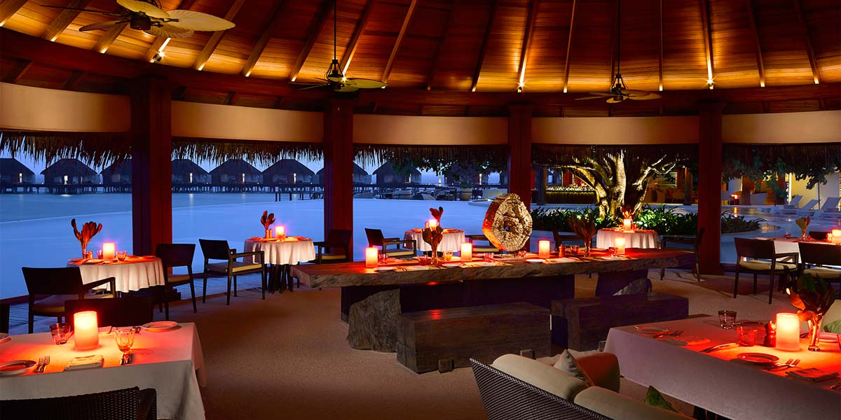 The Sea Grill at Dusit Thani Maldives