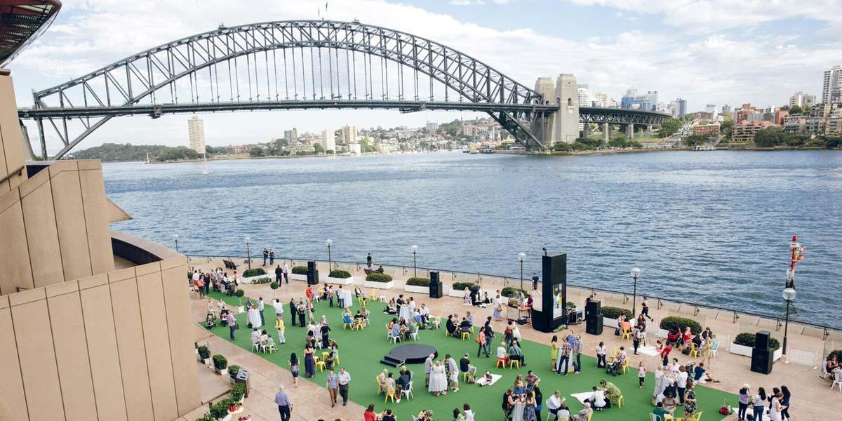 Sydney Harbour Bridge Views From The Forecourt, Sydney Opera House, Sydney, Prestigious Venues