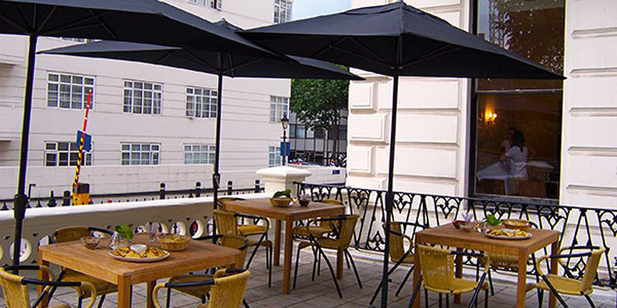 Hire Garden Room Patio 58 Prince S Gate Prestigious Venues