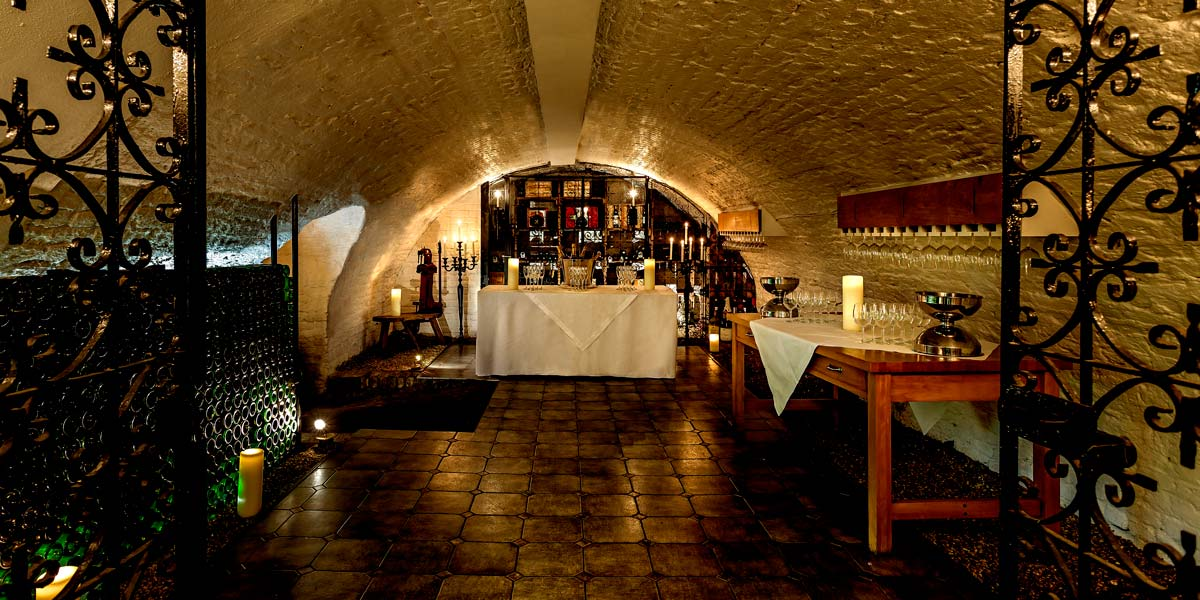 The Wine Cellars at The Stafford London