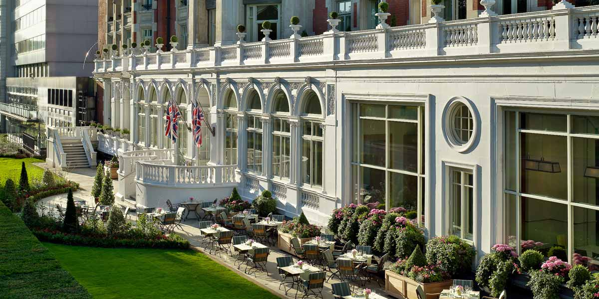 Mandarin oriental hyde park london event spaces for Terrace hotel london