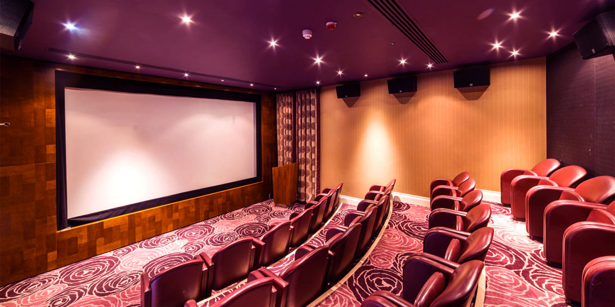The Cinema at The Roseate Reading