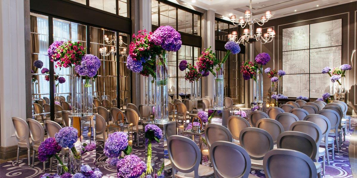 Wedding Ceremony, Corinthia Hotel London, Prestigious Venues