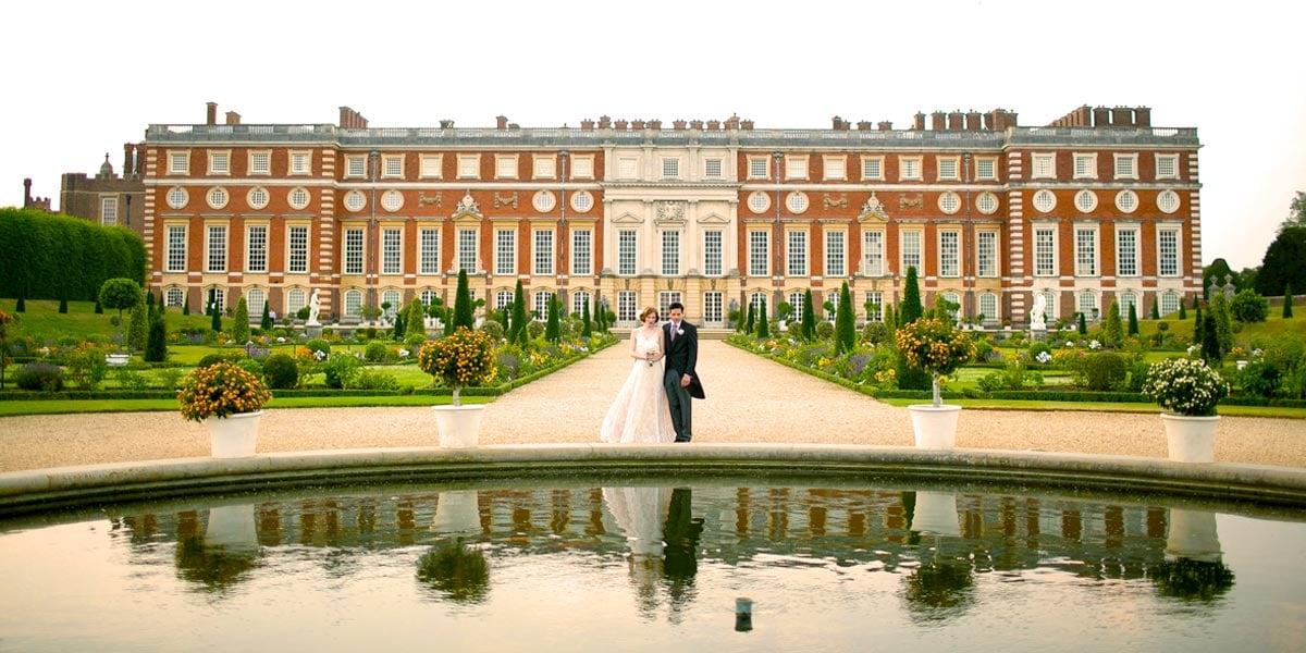 Wedding In A Palace, Hampton Court Palace, Prestigious Venues