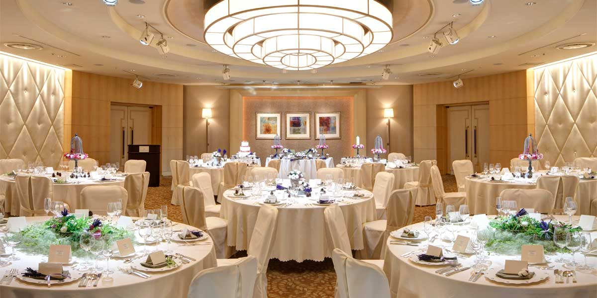 The Aurora Room at ANA InterContinental Tokyo