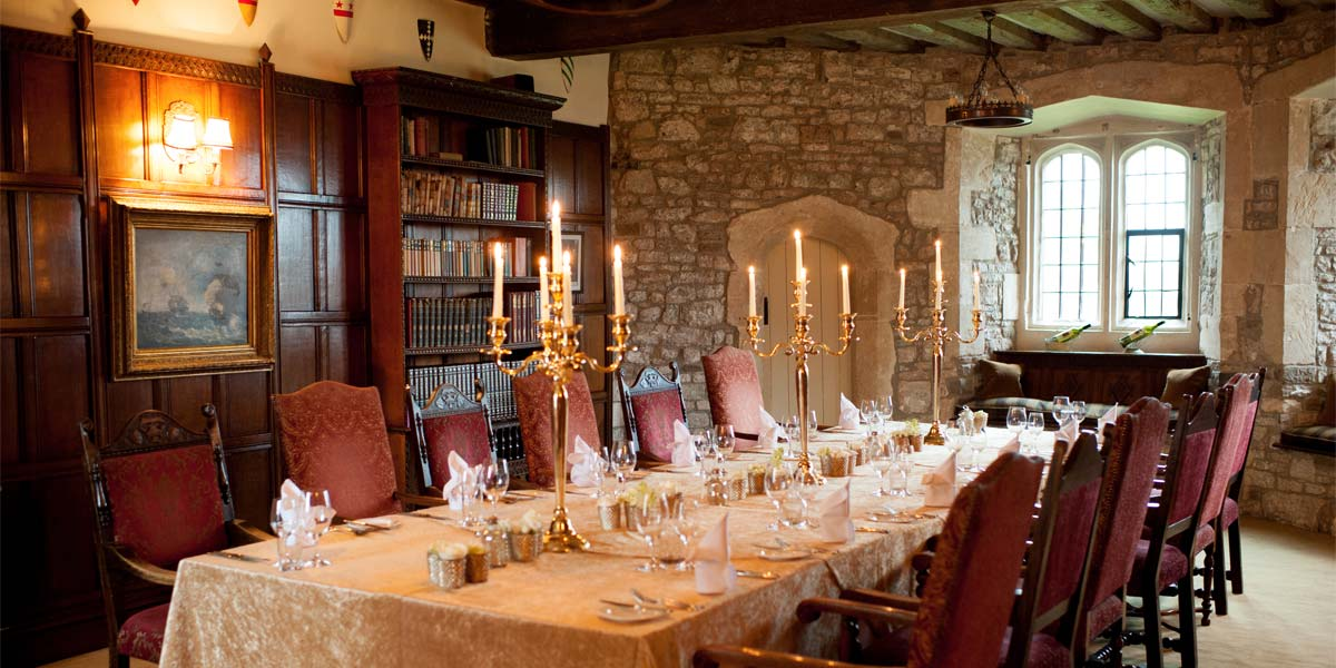 Baron's Sitting Room, Thornbury Castle, Prestigious Venues