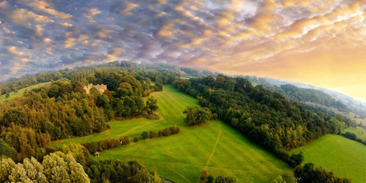 Beautiful View Farncombe Estate, Prestigious Venues