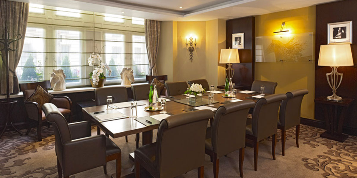 The Executive Boardroom at The Royal Horseguards Hotel