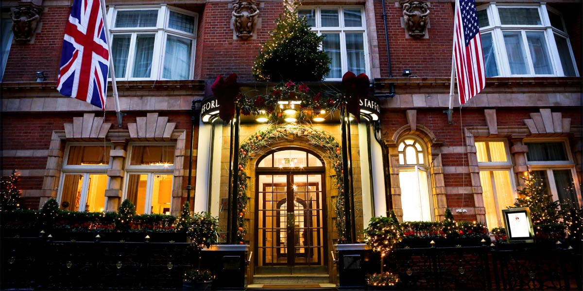 Christmas Venue In Central London, The Stafford London, Prestigious Venues