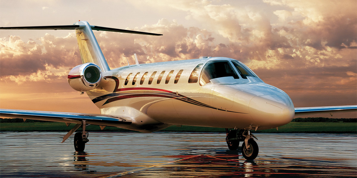 Citation CJ3, Small Plane to Charter, Air Partners, Prestigious Venues