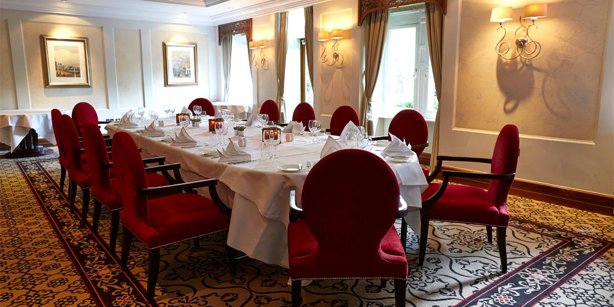 The Terrace Room at The Royal Horseguards Hotel