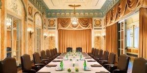Danieli Meeting Room, St Regis Rome, Prestigious Venues