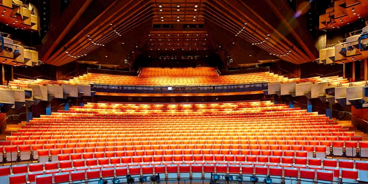 The Joan Sutherland Theatre at Sydney Opera House