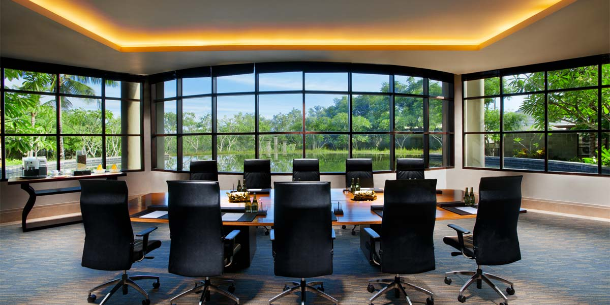 The Lotus Boardroom at Banyan Tree Bali
