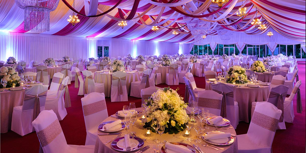 Marquee Wedding Dubai, Prestigious Venues