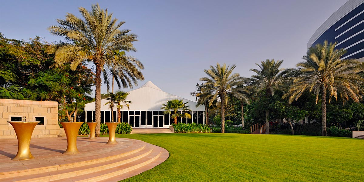 The Lawn Marquee at Grand Hyatt Dubai