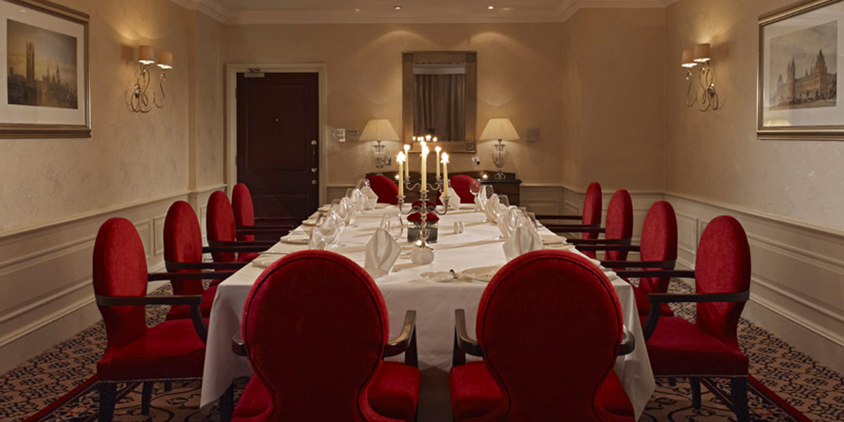 The London Room at The Royal Horseguards Hotel