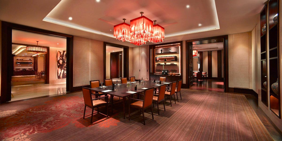 Grand hyatt dubai event spaces prestigious venues for Best private dining rooms dubai