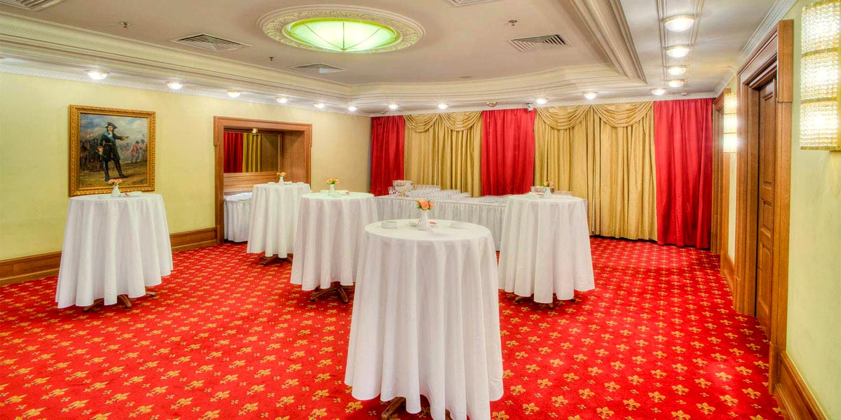The Petrovsky Room at Hotel National