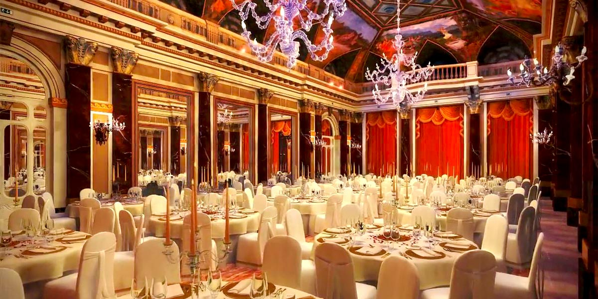Gala Dinner Venues, Ritz Ballroom Gala Dinner Venue, St Regis Rome, Prestigious Venues
