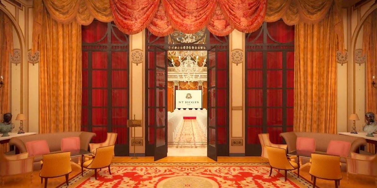 The Ballroom, St Regis Rome, Prestigious Venues