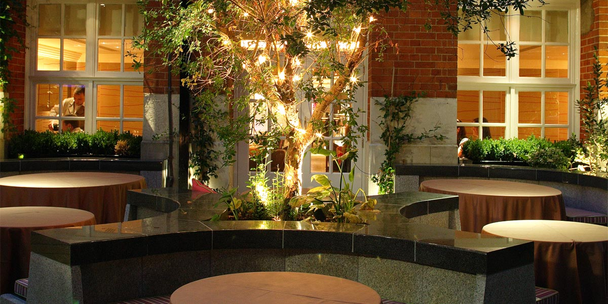 The Secret Garden at The Forbury Hotel