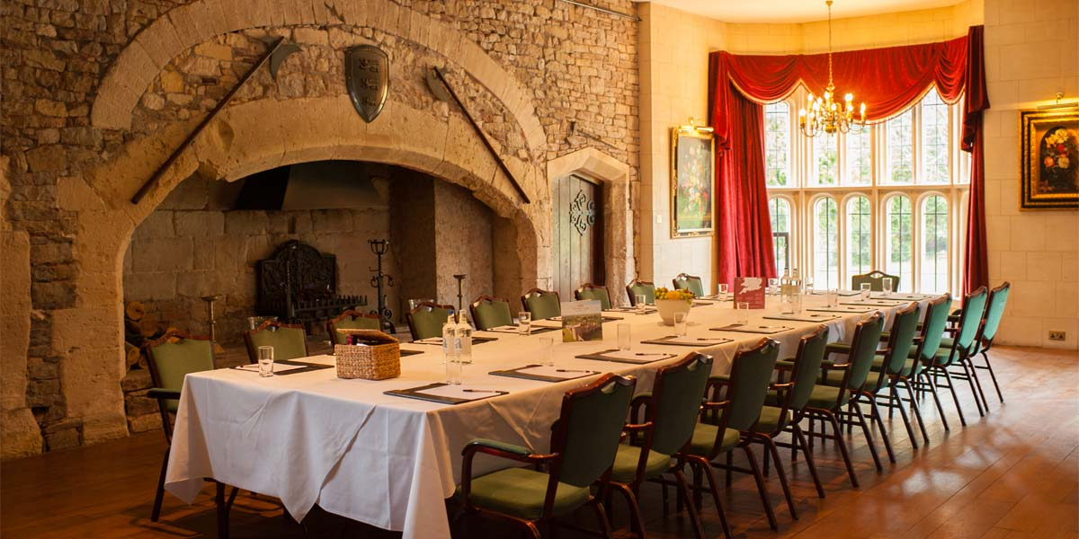 The Tudor Hall at Thornbury Castle