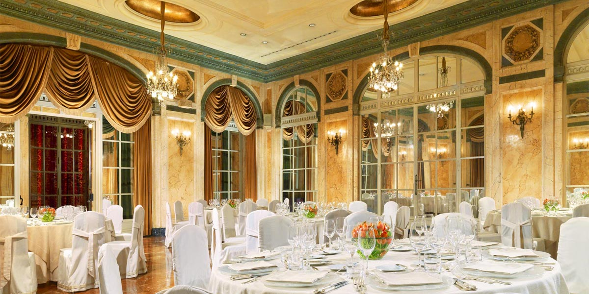 Wedding In Rome, St Regis Rome, Prestigious Venues