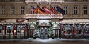 Hotel Sacher Vienna, Austria, Christmas Venue