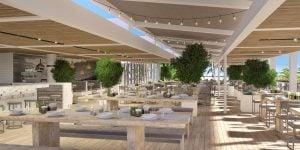 Awayday Venues, Malibu Farm Outdoor Terrace, Nobu Eden Roc, Prestigious Venues