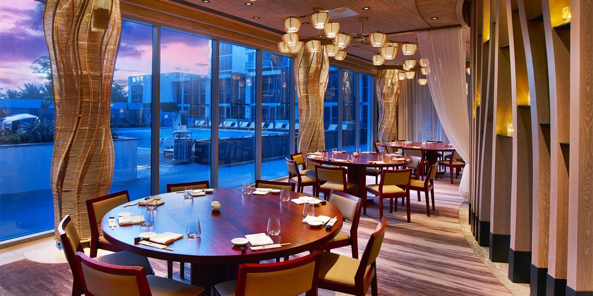 Nobu Miami Beach, Nobu Eden Roc, Prestigious Venues