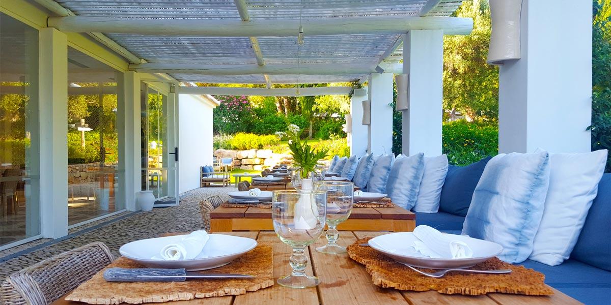 Outdoor Event Space at A Terra Restaurant, Villa Monte, Prestigious Venues, Portugal