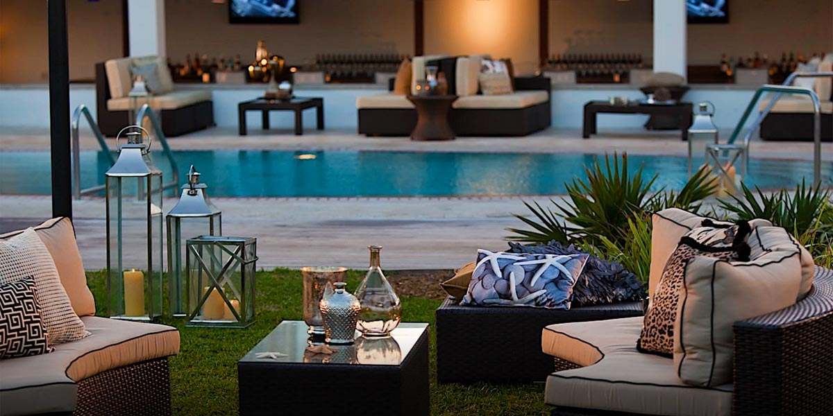 Poolside Venue Space, Nobu Eden Roc, Prestigious Venues