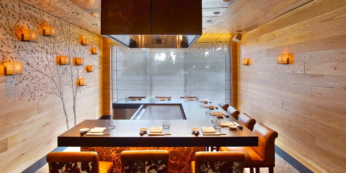 Private Dining Venue, Nobu Eden Roc, Prestigious Venues