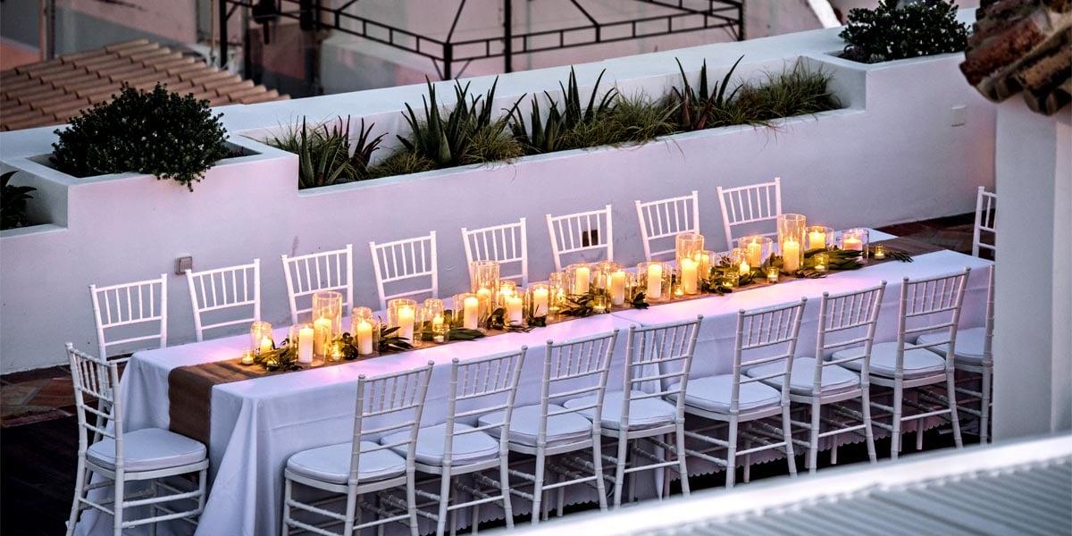 Private Group Dinner, Casa Fuzetta, Prestigious Venues