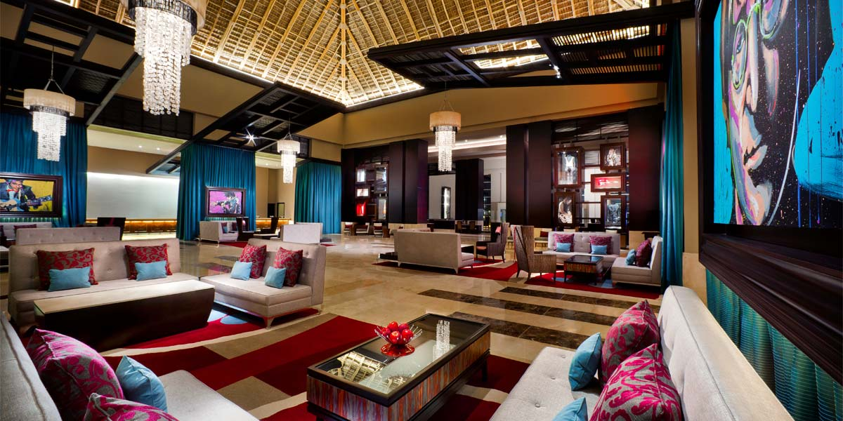 The Main Lobby Hard Rock Hotel Punta Cana Prestigious