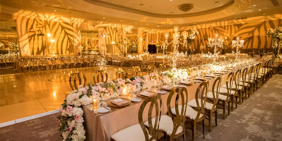 Venue For Weddings, Nobu Eden Roc, Prestigious Venues