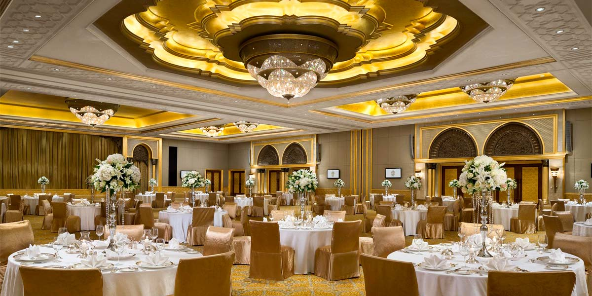 Wedding In A Palace, Emirates Palace, Prestigious Venues