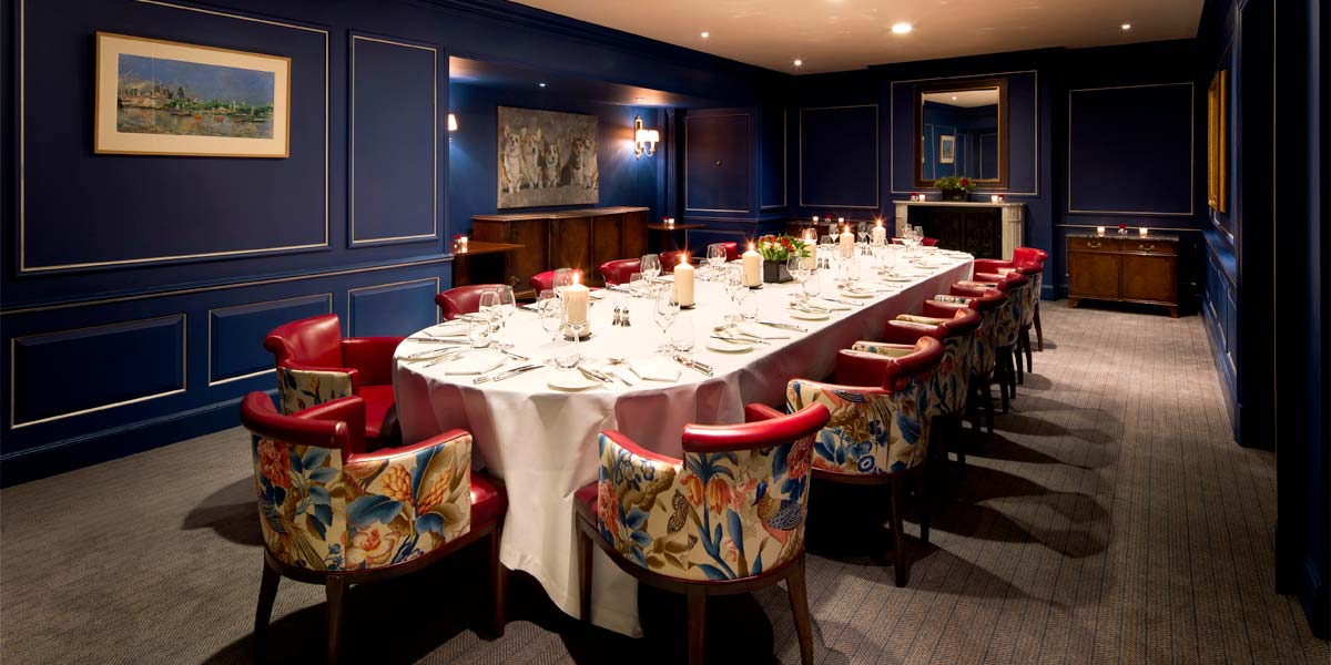 The Sutherland Room at The Stafford London