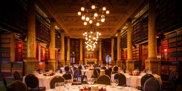 Gladstone Library Christmas Party, One Whitehall Place, Prestigious Venues